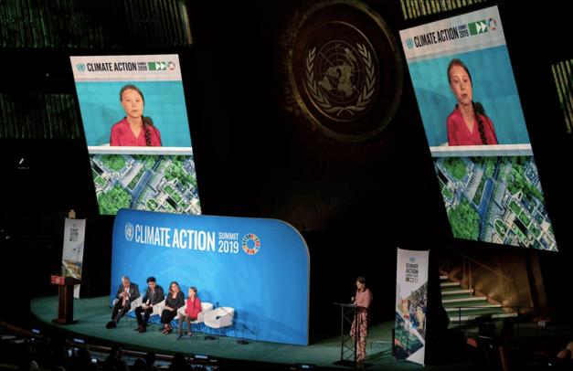 Cambio climatico Greta Thunberg