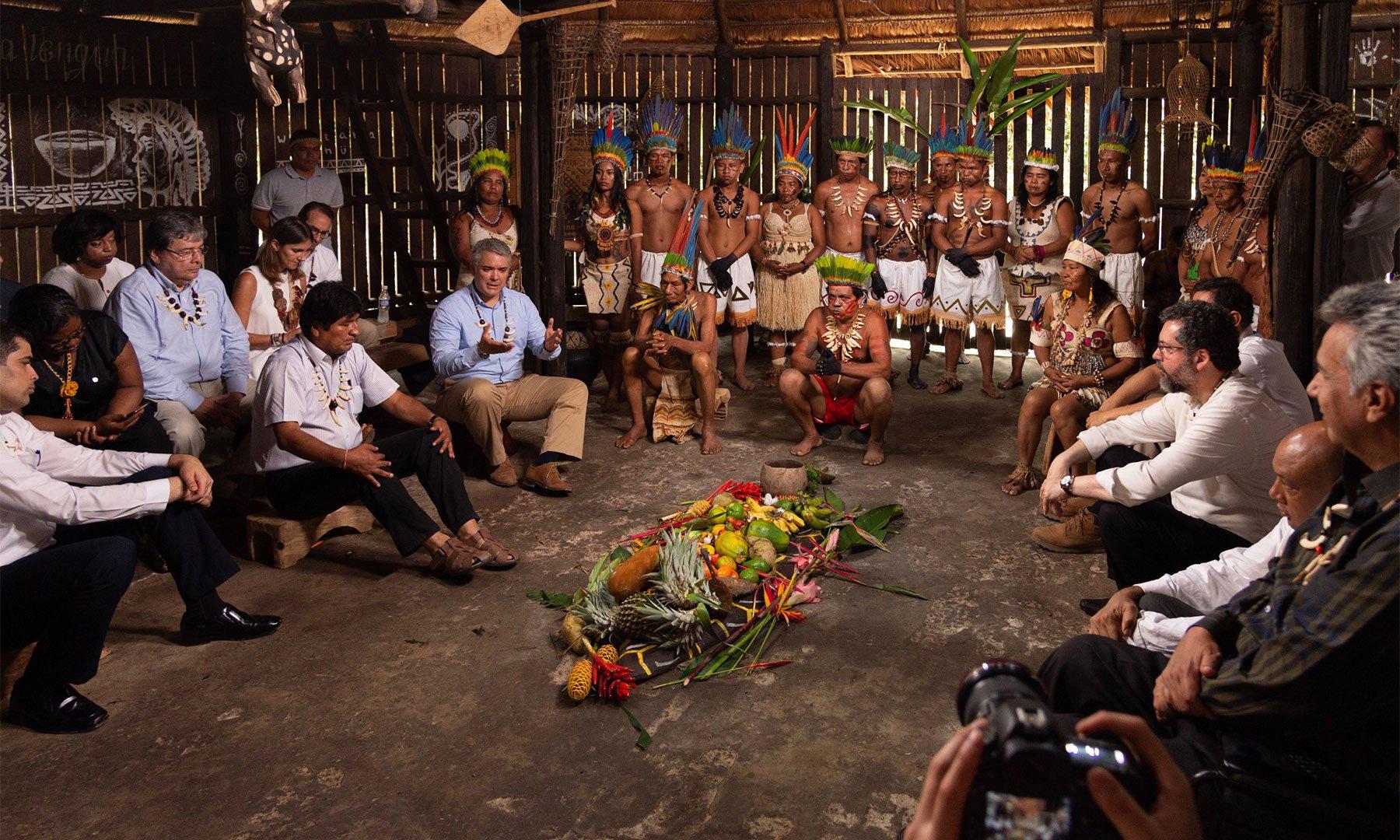 Pacto Leticia Amazonas